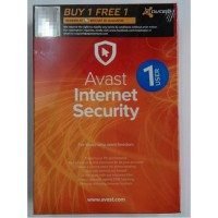 AVAST INTERNET SECURITY 1 USERS 2016