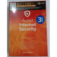 AVAST INTERNET SECURITY 3 USERS 2016