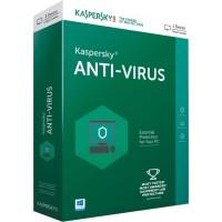 KASPERSKY ANTI-VIRUS 2017 (1 USER)