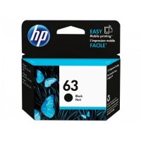 HP HEWLETT-PACKARD 63 BLACK INK CARTRIDGE