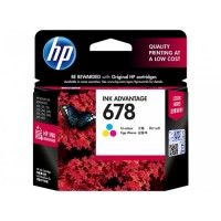 HP HEWLETT-PACKARD 678 INK CARTRIDGE COLOR