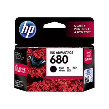 HP HEWLETT-PACKARD 680 INK CARTRIDGE BLACK