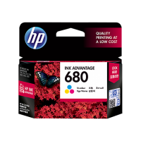 HP HEWLETT-PACKARD 680 INK CARTRIDGE COLOR