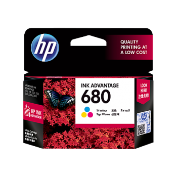 HP HEWLETT-PACKARD 680 INK CARTRIDGE COLOR