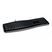 MICROSOFT COMFORT CURVE 3000 3TJ-00019 WIRED USB KEYBOARD