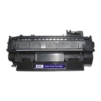 COMPATIBLE HP NO. 05X CE505X TONER CARTRIDGE - BLACK / CANON 319 HY